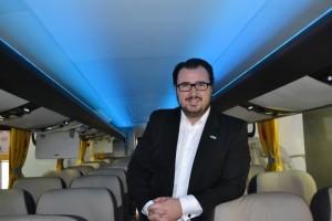 Emanuel Perini- Supervisor de Negocios Internacionales Neobus - Imagen: Viajerobuses