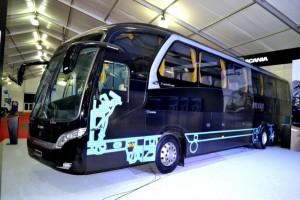 Neobus New Road N10 - Scania K400 - Imagen:Viajerobuses